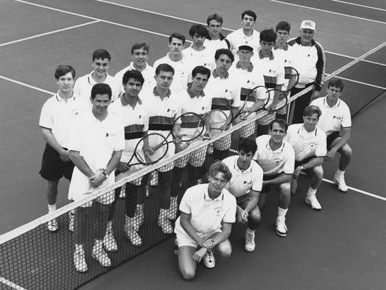 The 1993 Kalamazoo College men's tennis team won the