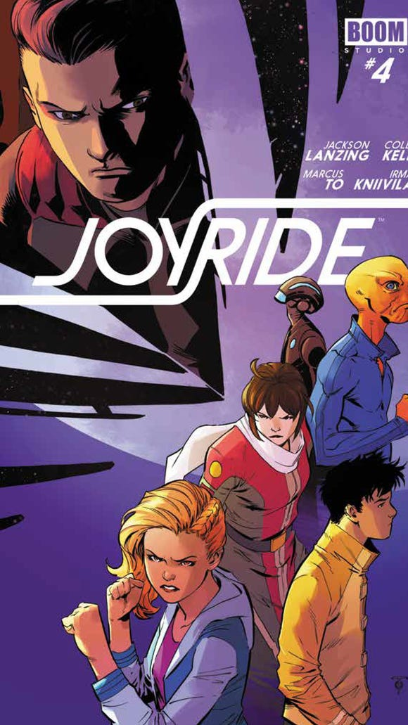 Joyride No. 4 cover.