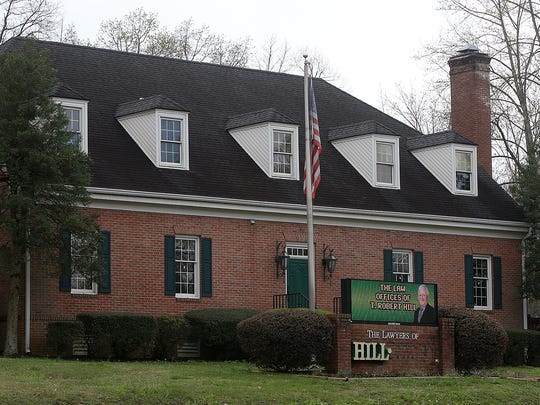 The Law Offices of T. Robert Hill are up for sale.