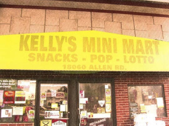 Kelly's Mini Marti gas station is located at 18060 Allen Road in Melvindale.