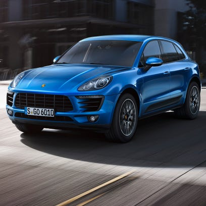 The 2015 Porsche Macan compact SUV is a highly modified