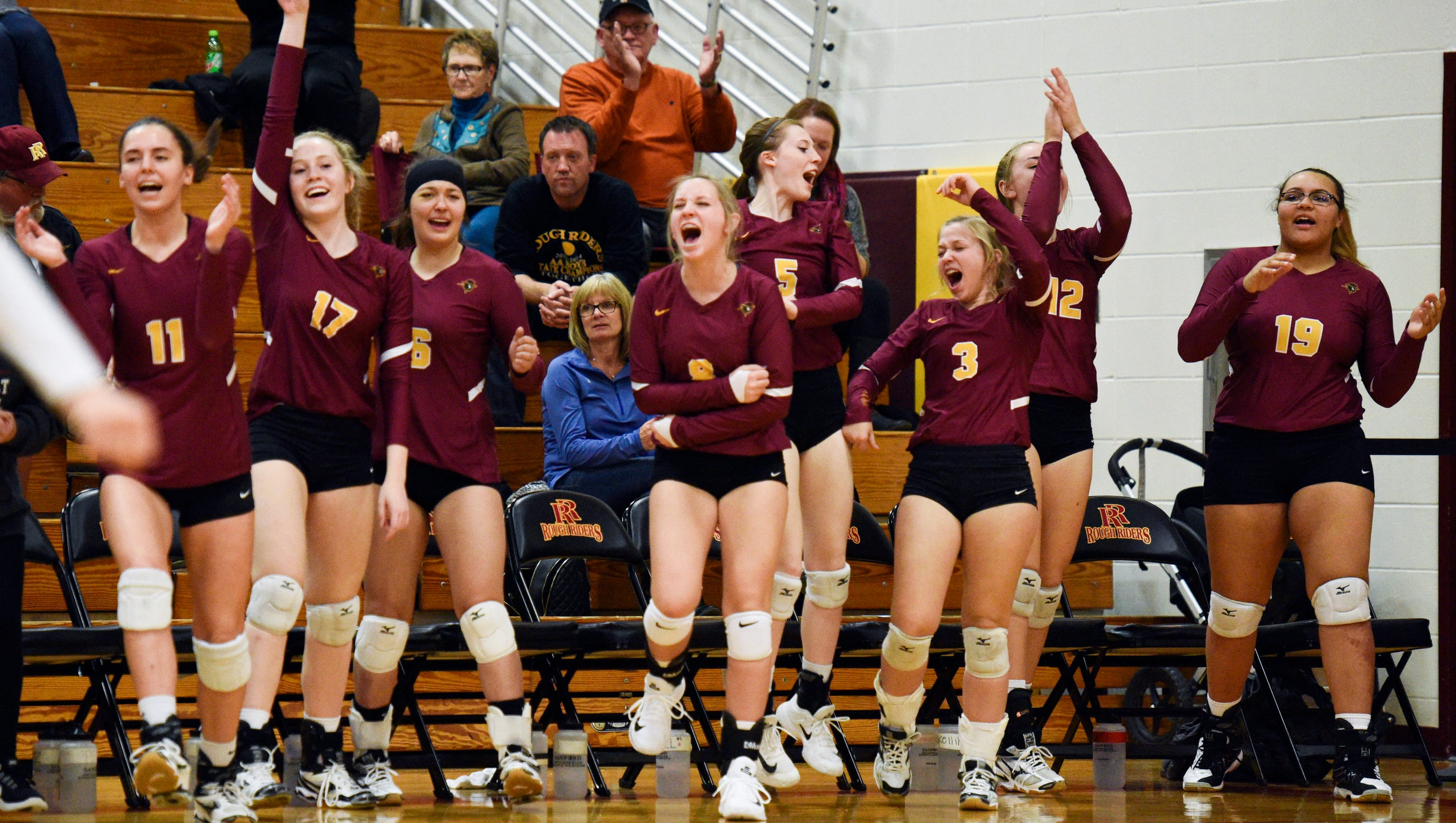 SDHSAA volleyball scores and roundups for Oct. 24