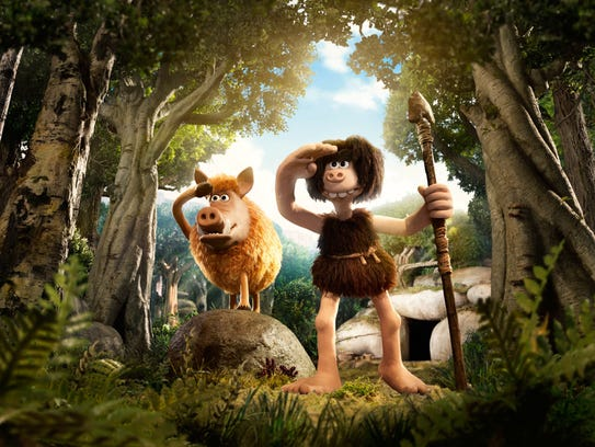 """Early Man"" looks back at... well, the early days of"