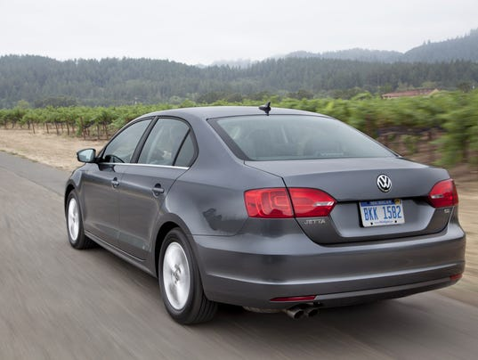 2014 Volkswagen Jetta TDI rear