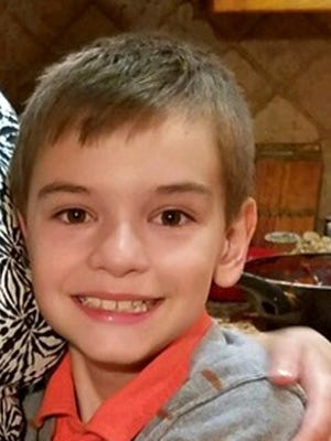 This undated photo provided by the Santa Maria Police Department shows Daniel Morozov.  Santa Maria police issued an Amber Alert early Tuesday, Aug. 22, 2017 for Morozov.