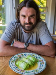 Marc Provencher, chef-owner at Taverna Khione in Shelburne,