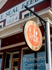 The Richmond Community Kitchen is in the Blue Seal