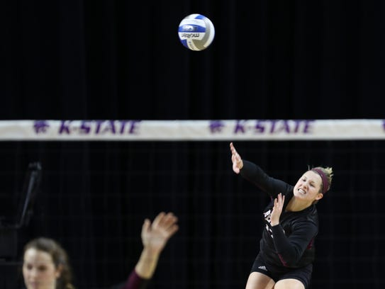 MSU senior Lily Johnson added to her MVC record with