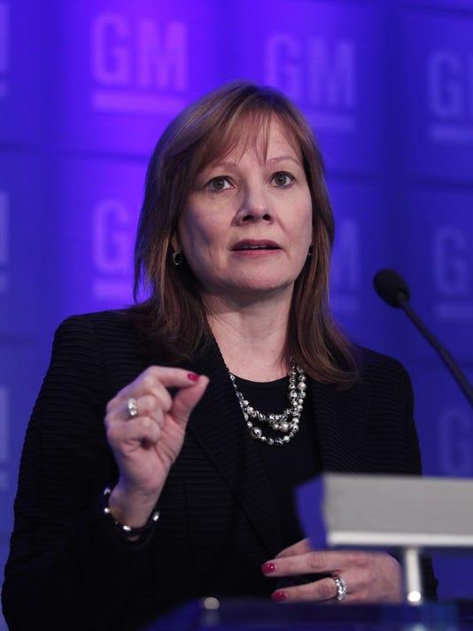 General Motors Holds Annual Shareholders Meeting