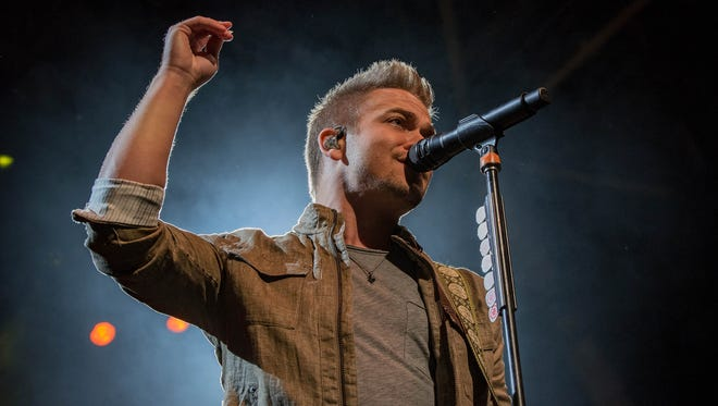 Hunter Hayes performs at the BMO Harris Pavilion July 7.