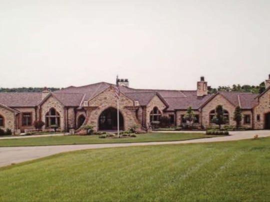 Jeffrey and Maria Decker's mansion on 9645 Cunningham
