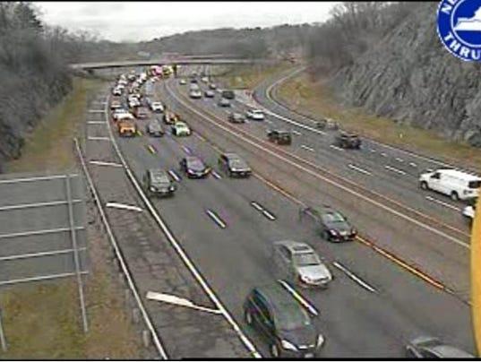 Traffic: Accidents slow I-87, 287