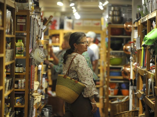 Chef Lyndal Leihsing browses myriad cooking gadgets in 2013 as she shops at The Cupboard in Old Town Fort Collins.