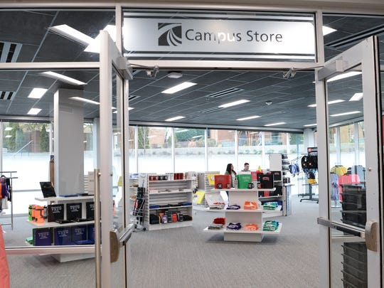 Tri-County Technical College campus store, in the newly opened Student Success Center in Pendleton on Friday, January 12, 2018.