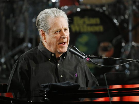 FILE PHOTO Brian Wilson, shown performing on his ?Pet
