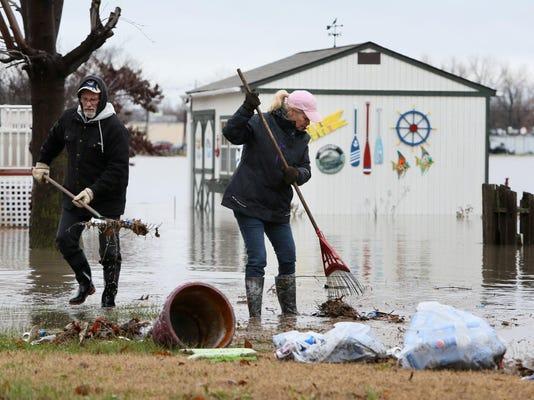 Flooding in Pontoon Beach
