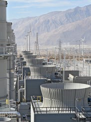 The Sentinel power plant in Desert Hot Springs, which
