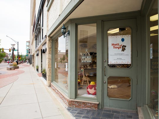 Hall of Toys in downtown Battle Creek.