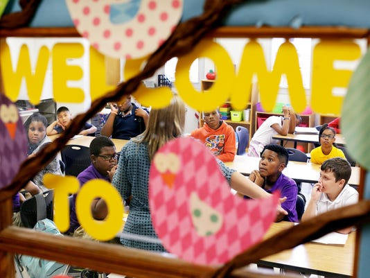 First Day Back at Lillie Burney Elementary School | Gallery
