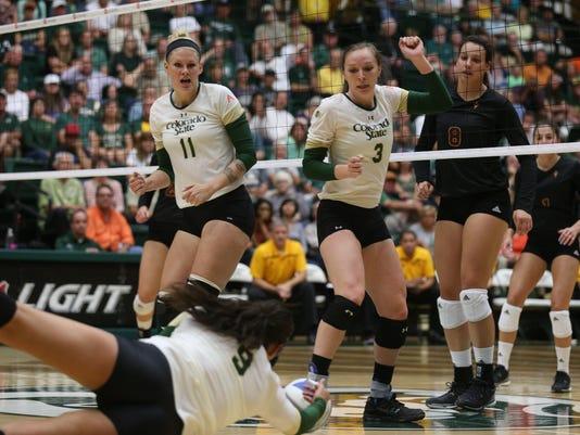 CSU vs Arizona State Volleyball