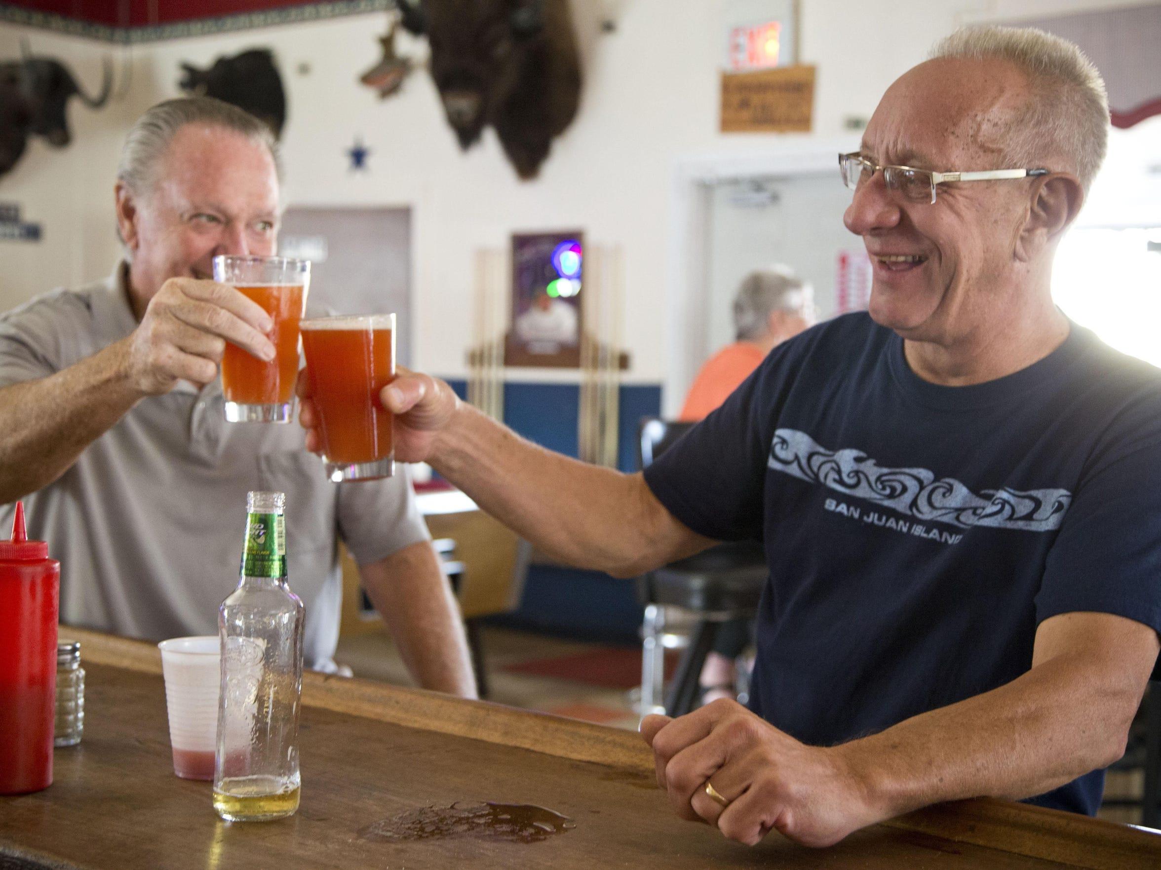 Older bar goers