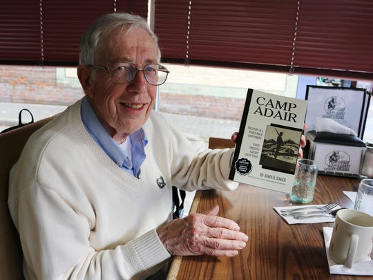 Author and World War II scholar John Baker is scheduled to address the gathering at A Tribute to Veterans, a free event Tuesday afternoon at the State Capitol.