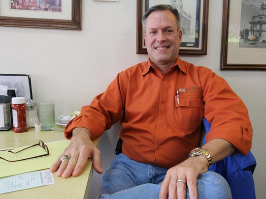 Jim Huggins is promoting a faith-based family film festival at Cinebarre Sunday, Feb. 14.