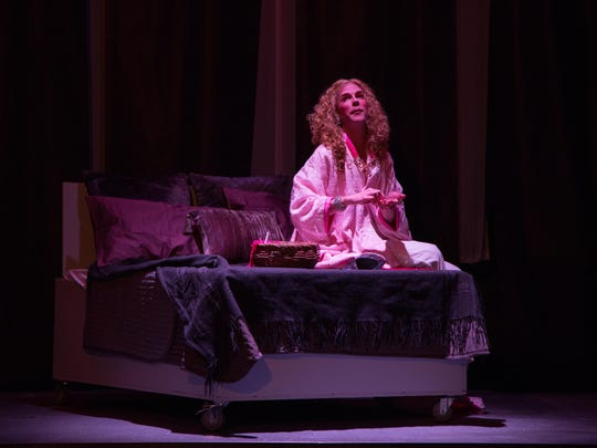 """Kevin Archambault as Prior Walter in a scene from Centerstage Productions' """"Angels in America"""" at the Center for Performing Arts at Rhinebeck."""