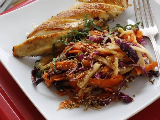 Food-Deadline-Carrot and Kohlrabi Slaw