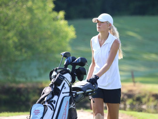 USJ's Shelby Hatchett tied for fourth at the Division II-A state tournament last year.