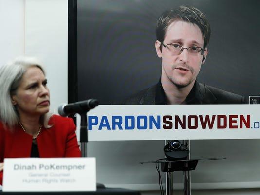 Edward Snowden,Dinah PoKempner