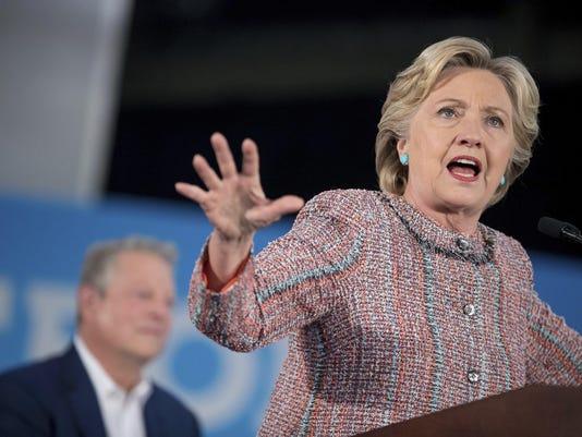 Hillary Clinton,Al Gore