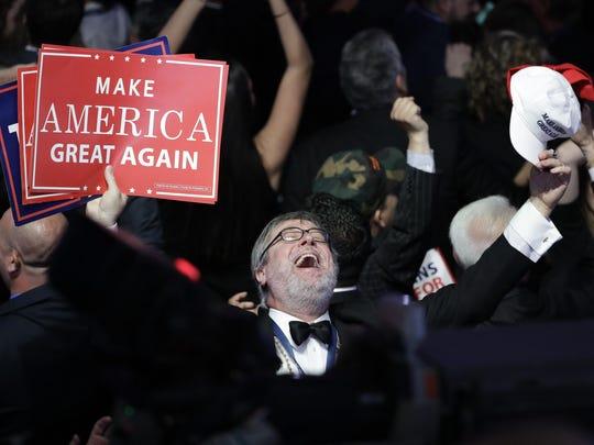 APTOPIX 2016 Election Trump (2)