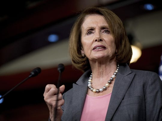 House Minority Leader Nancy Pelosi of Calif. speaks at a news conference Nov. 17 on Capitol Hill in Washington.