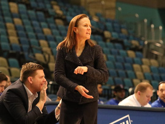 Montana State coach Tricia Binford led her team to