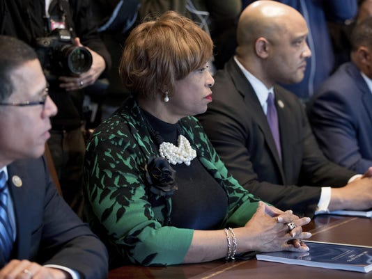 Brenda Lawrence,Andre Carson,Anthony Brown