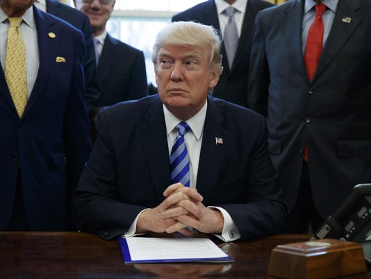 Donald Trump,Haider al-Abadi