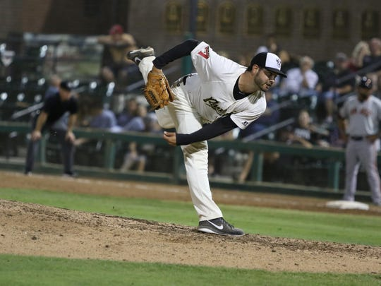 Kirby Bellow was one of the most effective left-handed relievers in the minors last season. Bellow, 25, posted a microscopic ERA of 0.70 over three stops, including seven appearances for the Rawhide.