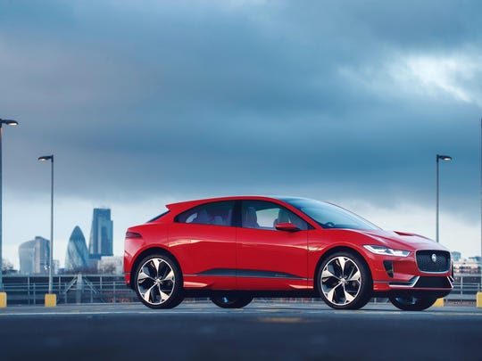 The I-Pace will help Jaguar meet looming government emissions rules.
