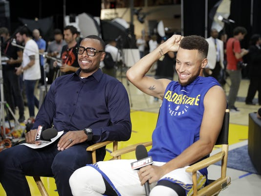 Warriors Media Day Basketball