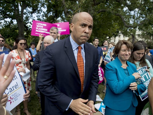 Cory Booker,Amy Klobuchar