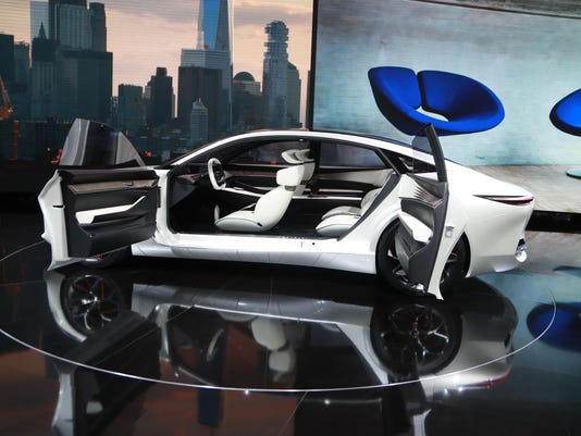 Concept Cars At Auto Show Offer Glimpse Of The Future