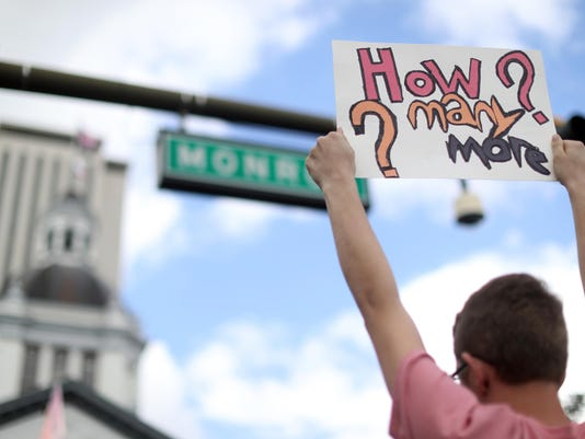 News: Gun Control Protest