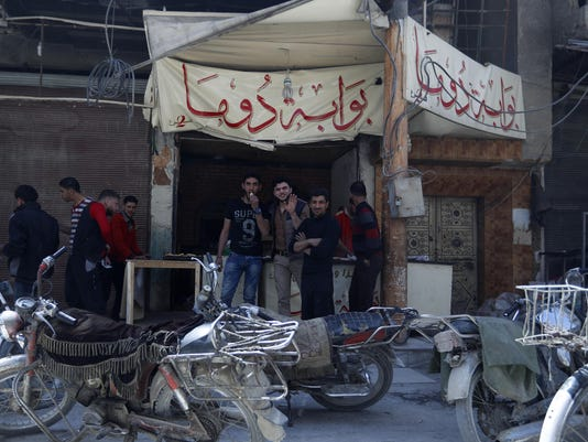 Syria Destroyed Town
