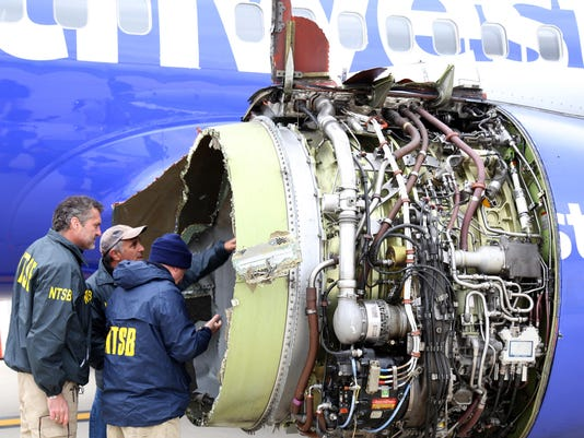 NTSB Investigates Deadly Southwest Engine Failure