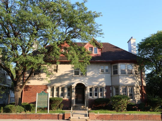 Albert Kahn's 1906 mansion at John R and Mack, now