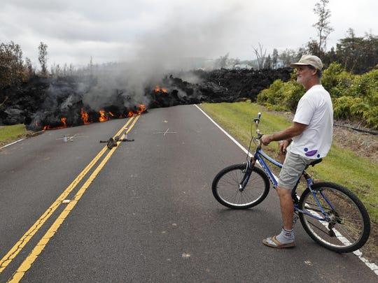 Hawaii Volcano The Lava