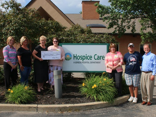 2018 06 28 Follies Family Check Presentation to Hospice 0027