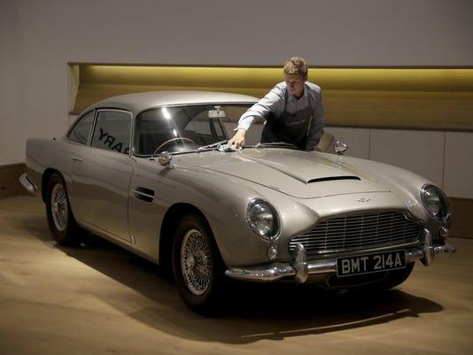 Britain Aston Martin