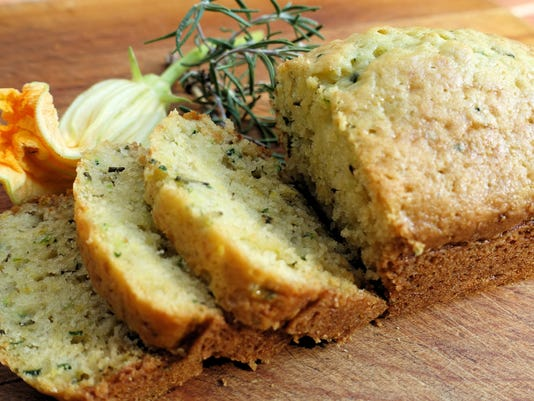 Zucchini bread art